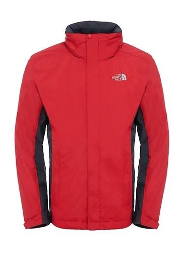The North Face Evolution Iı Triclimate Erkek Mont Kırmızı/Siyah Renkli